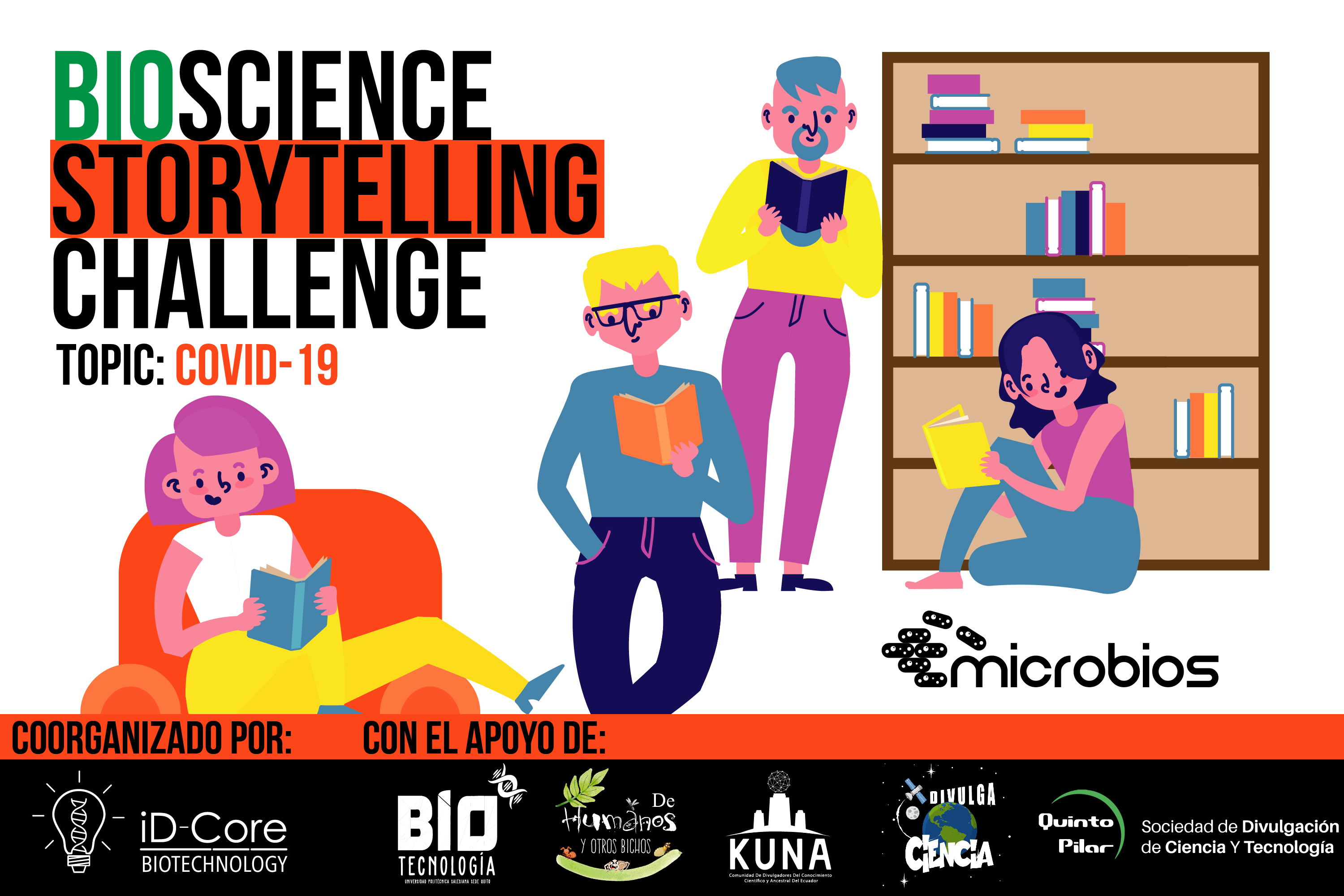 Bioscience Storytelling Challenge by microbios